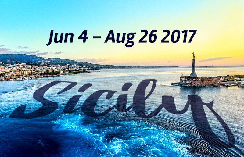 Sicily June 4 - August 26