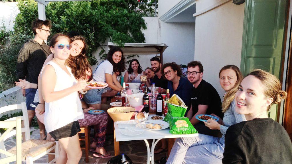 Hacker Paradise Group in Lesvos