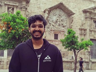 Digital nomad software developer from India
