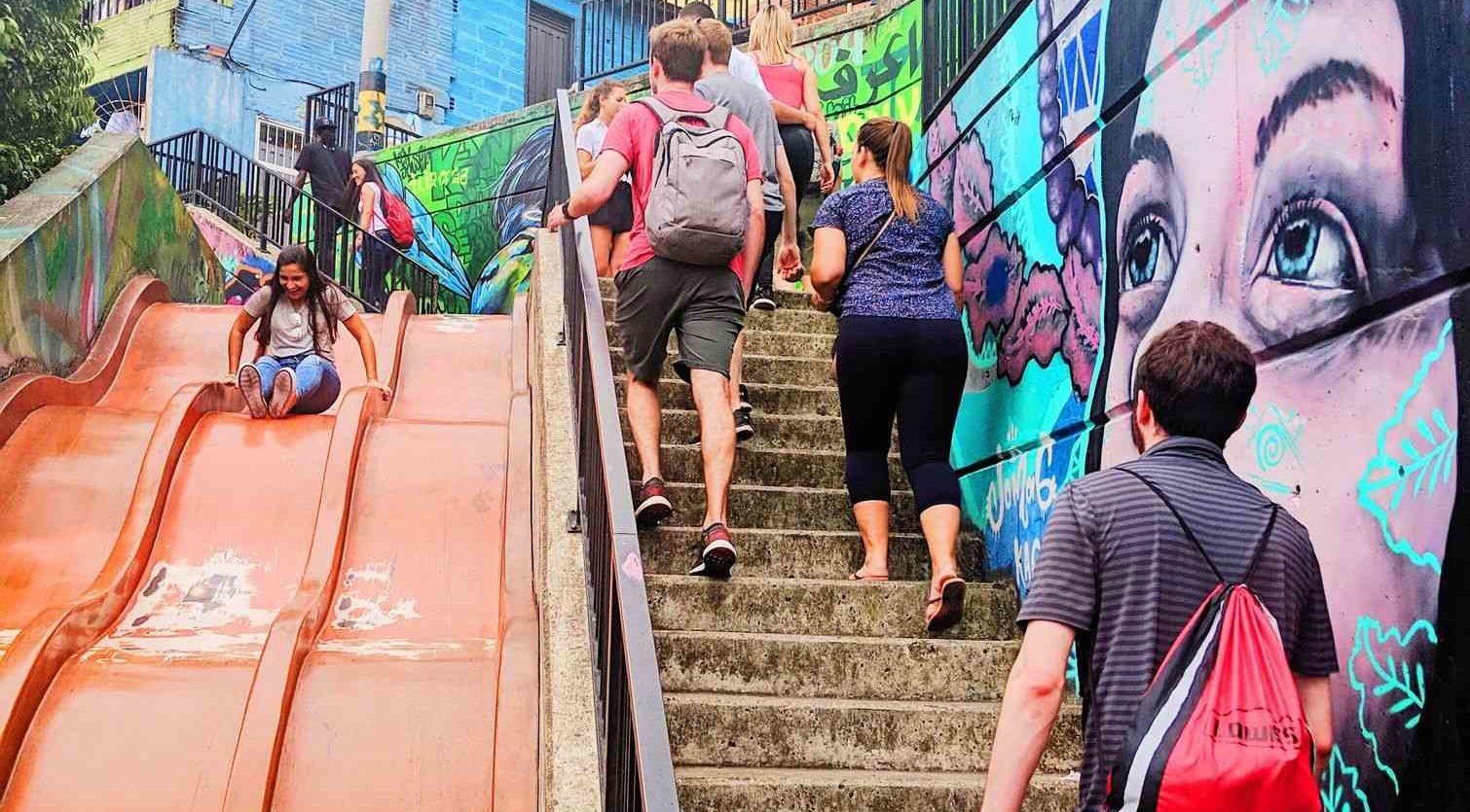 remote worker community explore Medellin